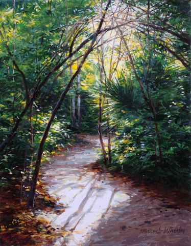 Tropical Path by  Michael Wheeler - Masterpiece Online