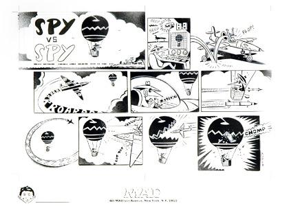 Spy Vs. Spy, White Sp...  by  Peter Kuper