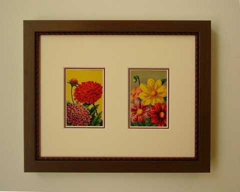 Vintage flower seeds ... by   Anonymous - Masterpiece Online