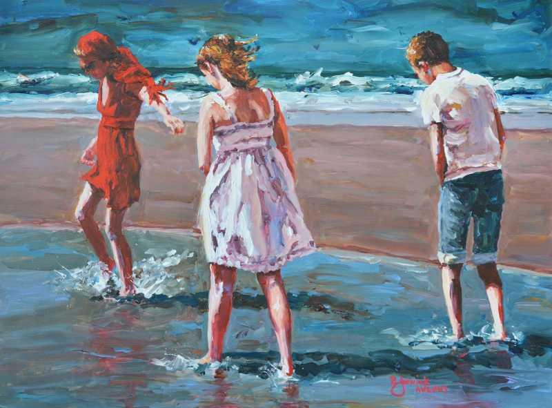Warm Summer Tide Pool...  by  Bev Jozwiak