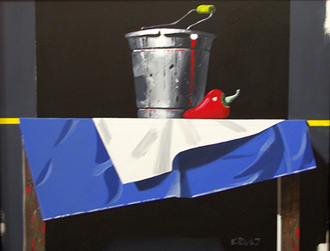 Bucket & Red Chilli P... represented  by  Zoran Krulj