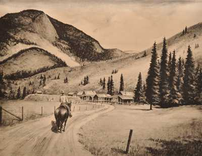 Western Landscape by  Philip Cheney - Masterpiece Online