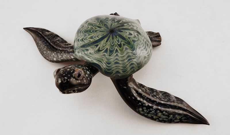 Turtle/Blue Starburst by  Scott Bisson - Masterpiece Online