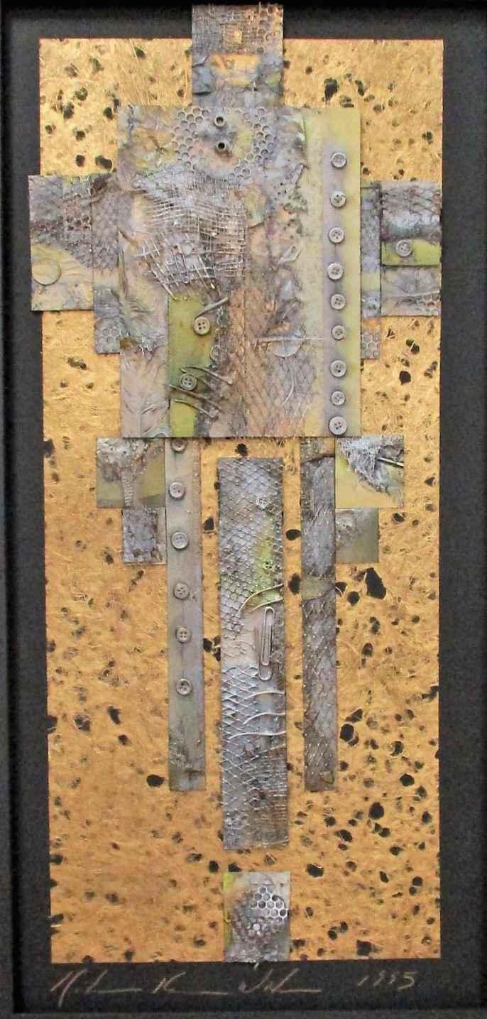 Untitled (Triptych  M... by  Katherine Kramer Waters - Masterpiece Online