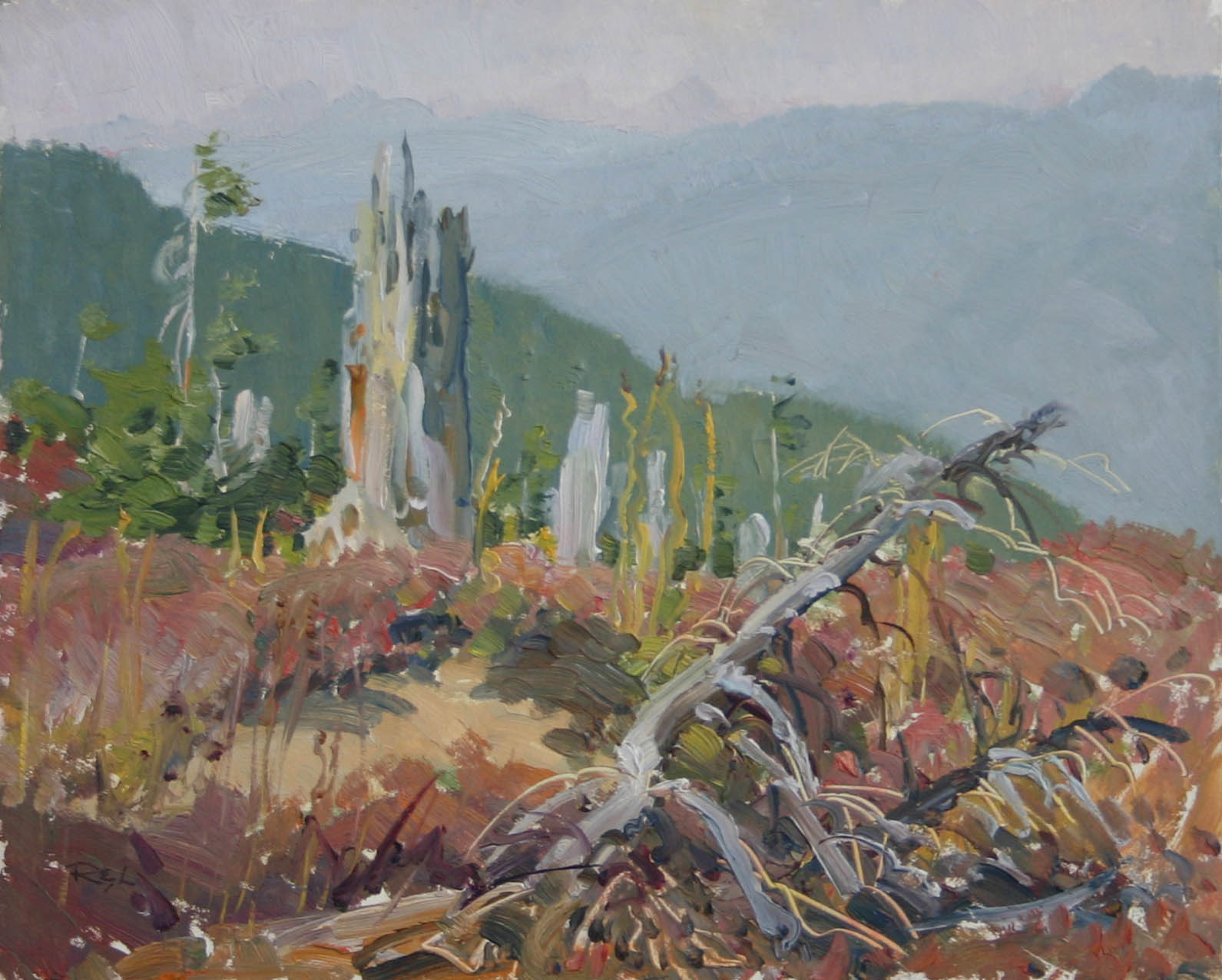 Growing Back by  Robert Lougheed - Masterpiece Online
