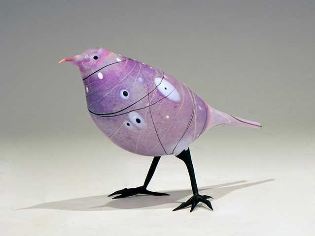 Purple Rose Abstract by  Shane Fero - Masterpiece Online