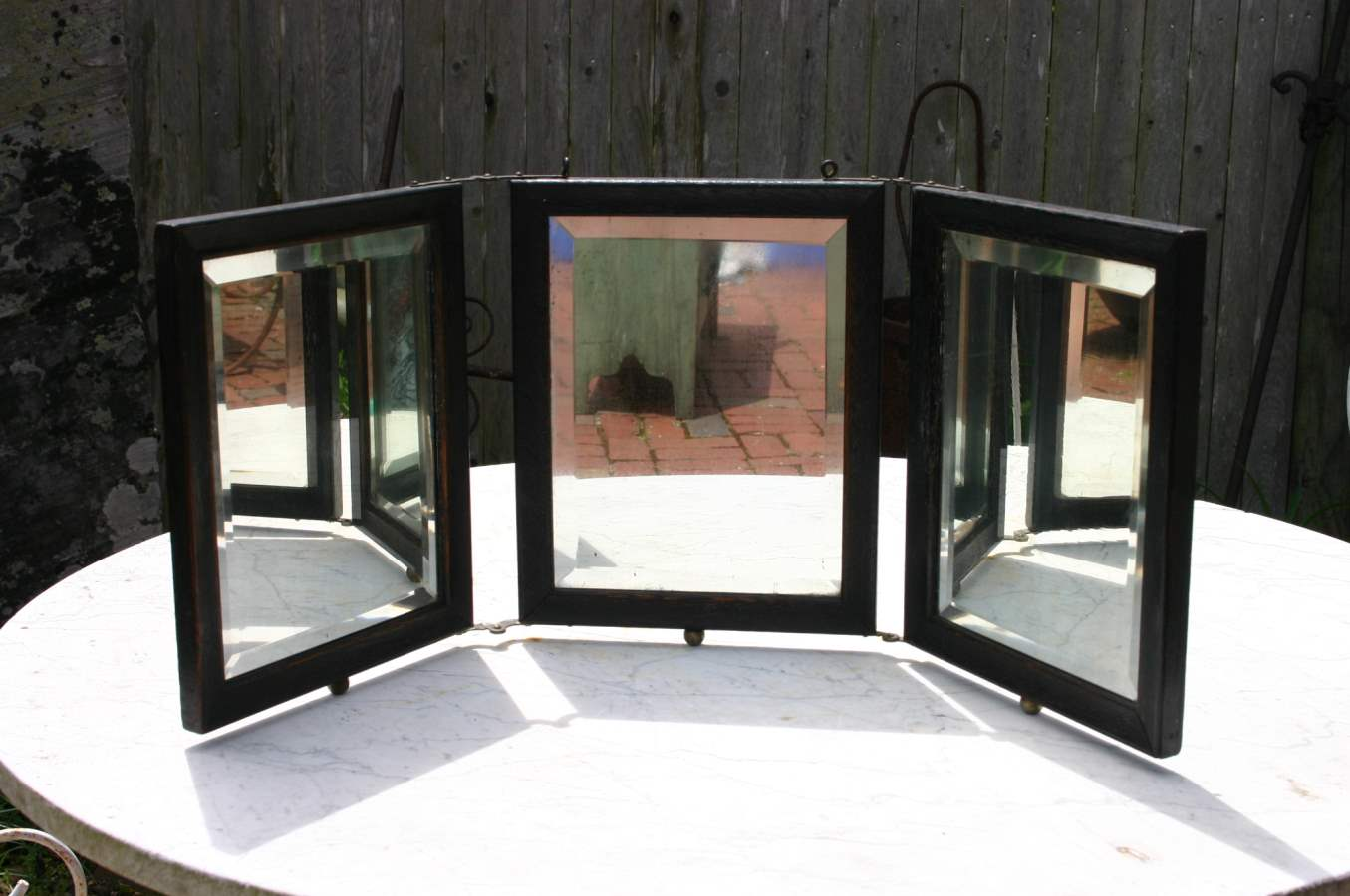 Three Panel Mirror by  Antiques  - Masterpiece Online