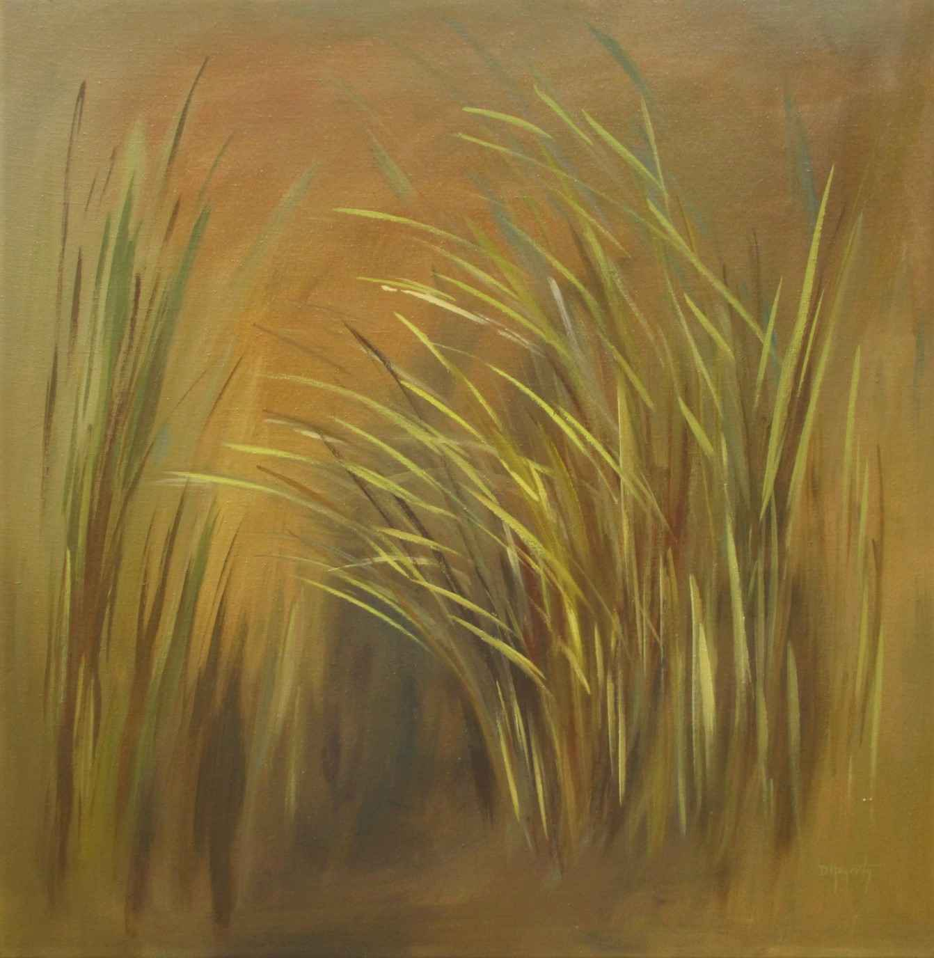 Yellow Grass by  Dorothy Hagerty - Masterpiece Online