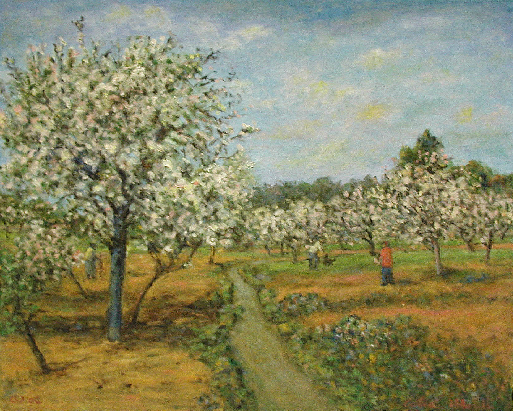 Springtime with Figur... by  Andres  Morillo - Masterpiece Online