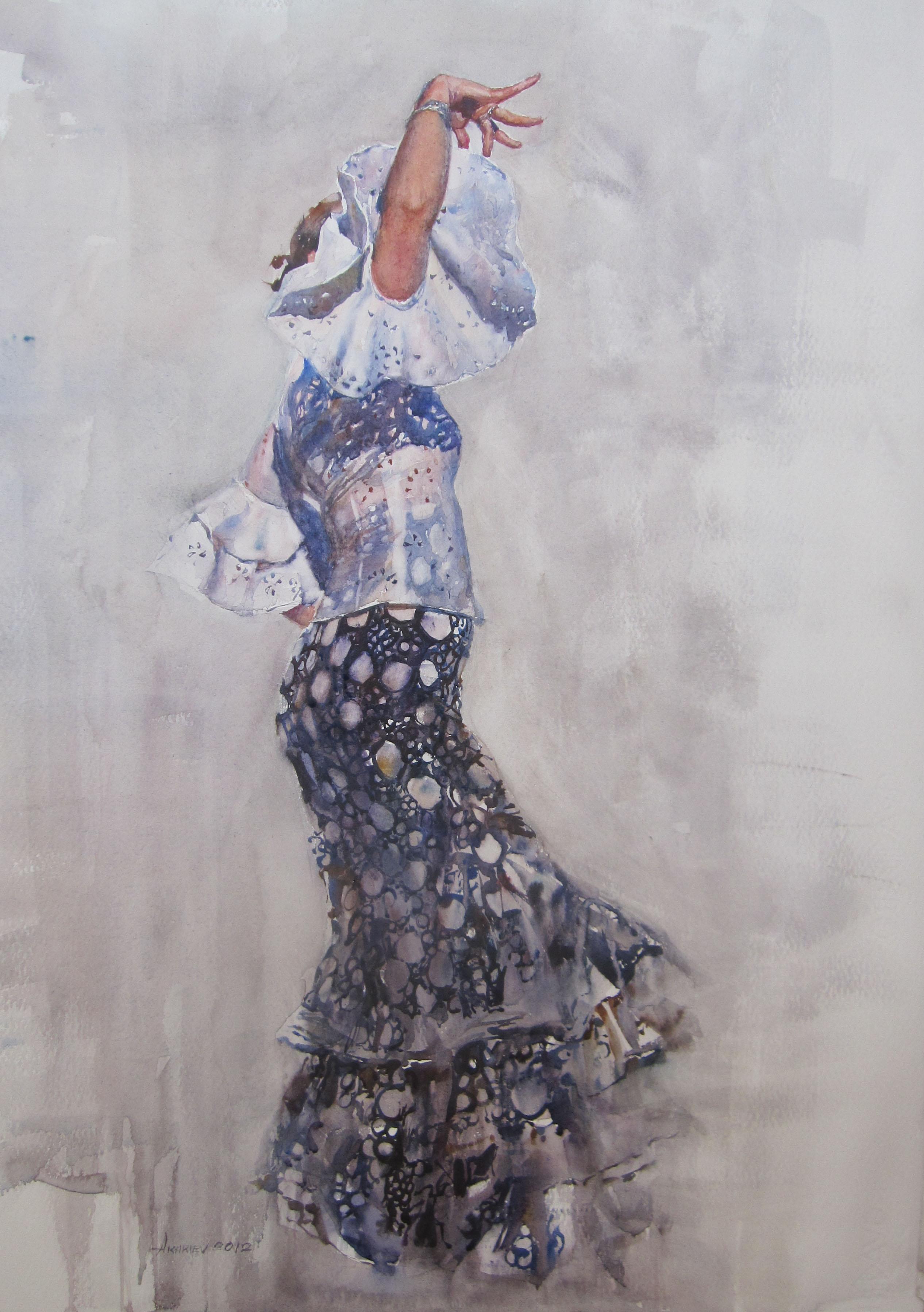 Marta by  Daud Akhriev - Masterpiece Online