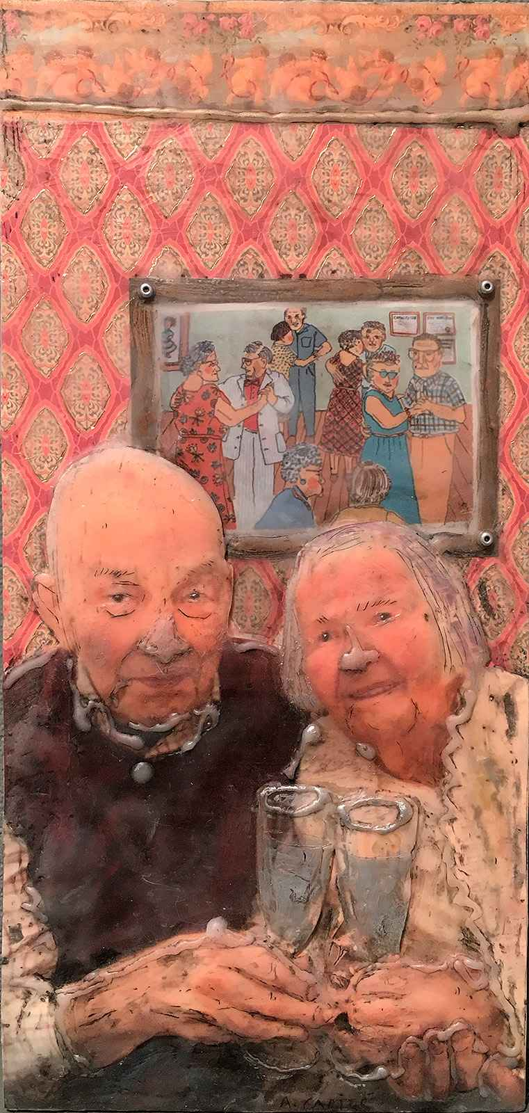 Teddy and Barb, 50 Ye... by  Ann L. Carter - Masterpiece Online