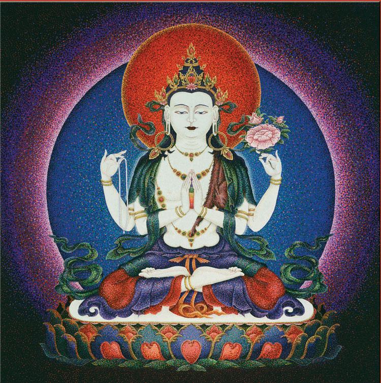 Chenrezig : Buddha of... by  Sherab (Shey) Khandro - Masterpiece Online