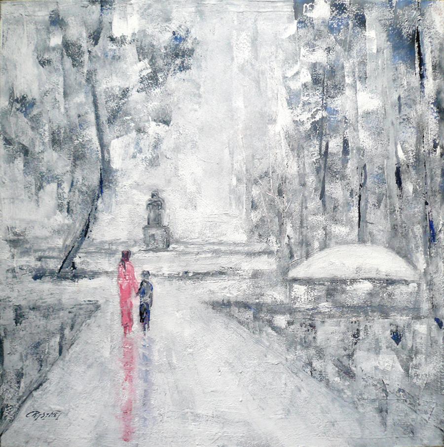 L'île Rousseau by   CRISINEL - Masterpiece Online