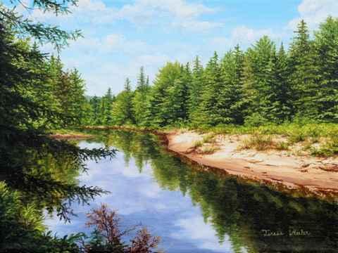 Up North  by   Teresa  Wheeler