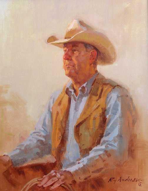 Don Hedgpeth Portrait by Mr. Roy Andersen - Masterpiece Online