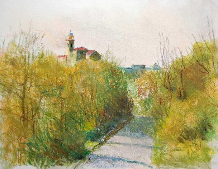 Toward the Church - L... by Mr Mark Stewart - Masterpiece Online