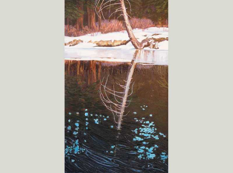 Spring Creek Reflecti... by  Ralph Temple - Masterpiece Online