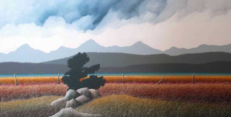 Alberta Fall by  Ken Kirkby - Masterpiece Online
