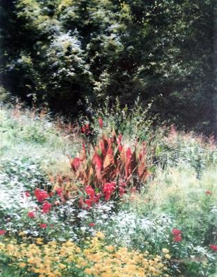 Garden in August by  Michael Wheeler - Masterpiece Online