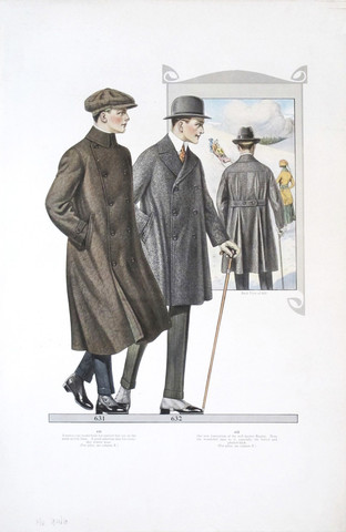 1917/1918 Men's Fashi... by  Anonymous  - Masterpiece Online