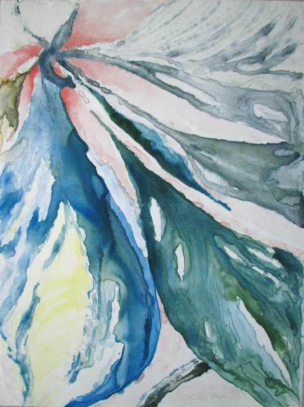 Naupaka Leaf by  Louise Barr - Masterpiece Online