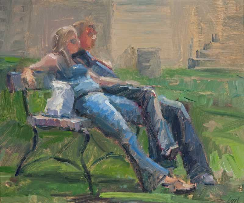 Young Love by  Lael Weyenberg - Masterpiece Online