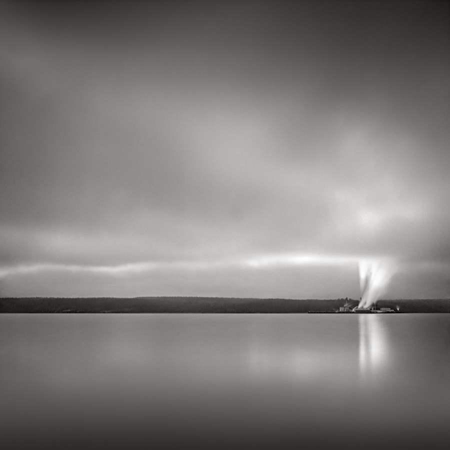 Steam, Glen Cove, Was... by  David Fokos - Masterpiece Online