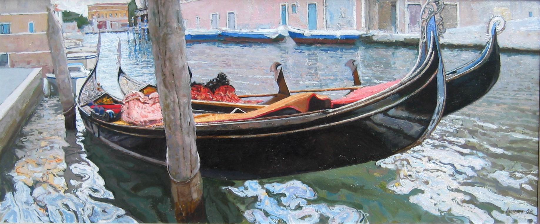 Venice by  Daud Akhriev - Masterpiece Online