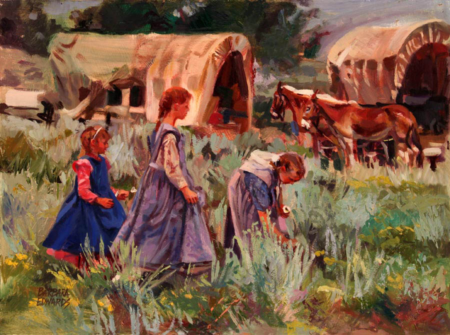 Three Sisters by  Barbara Summers Edwards - Masterpiece Online
