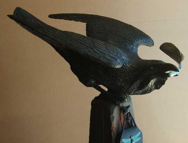 Bestowing Raven Oracle by  Peter Berryman - Masterpiece Online