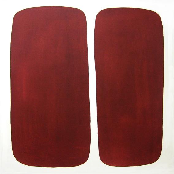 Double Desert Red  by  Angela Hayson - Masterpiece Online