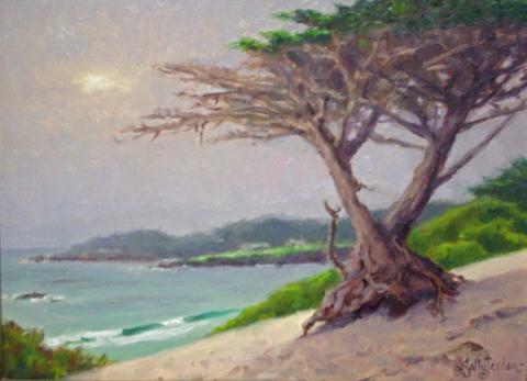 Silver Sunset by  Sally  Jordan - Masterpiece Online