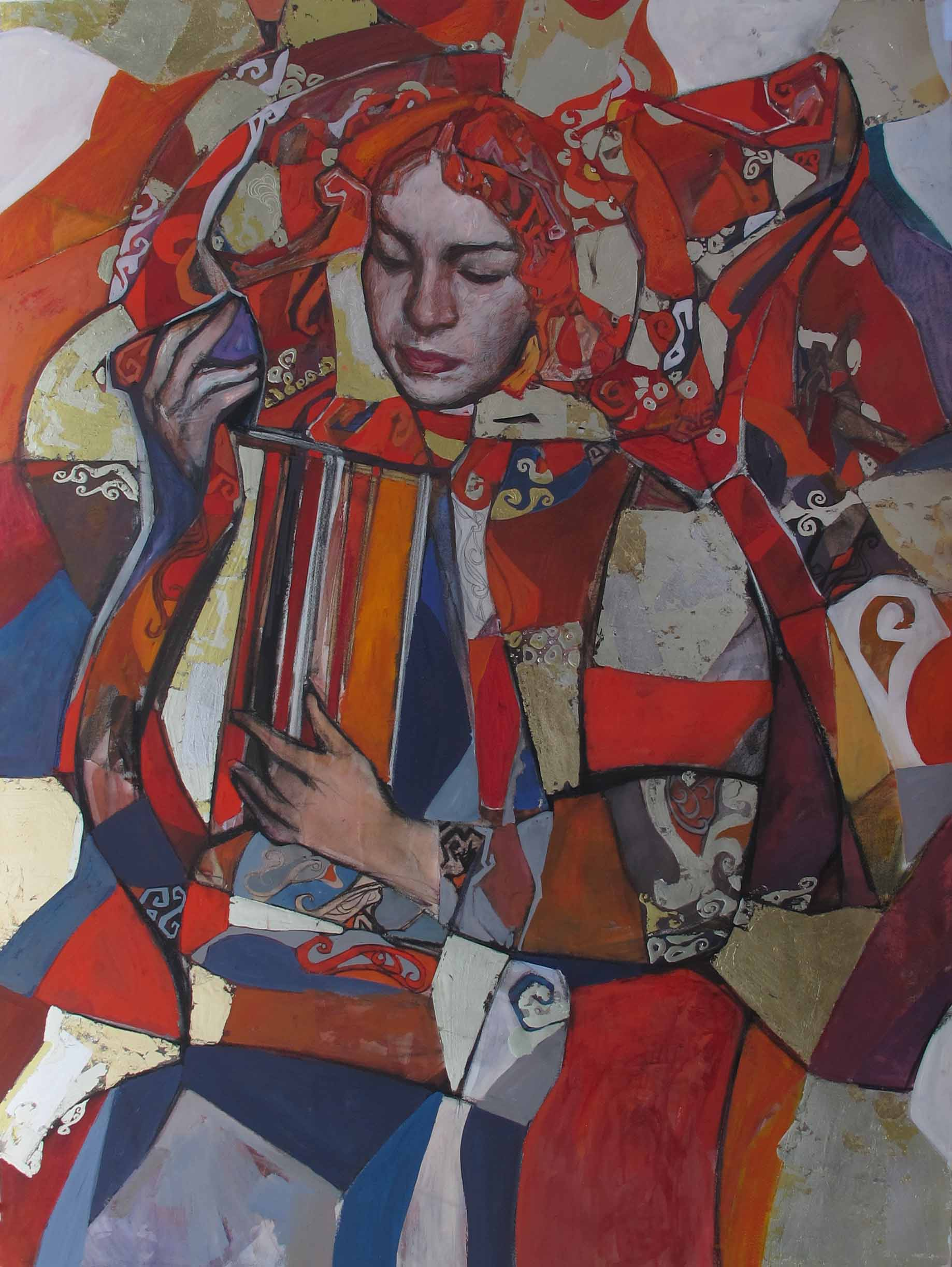 Muses Mosaic: Study I... by  Daud Akhriev - Masterpiece Online