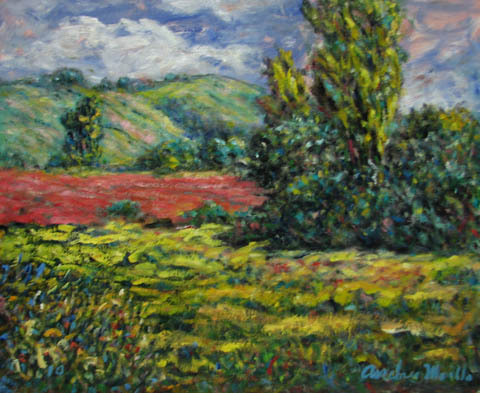 Cloud Above the Hill by  Andres  Morillo - Masterpiece Online