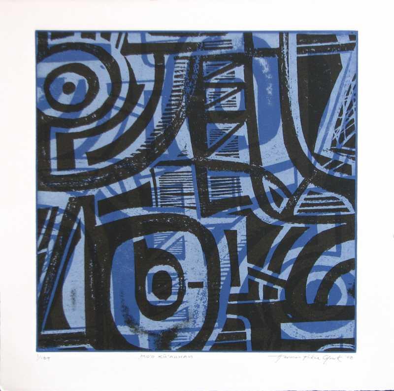 Mo'o Ku'auhau by  Herman Pi'ikea Clark - Masterpiece Online
