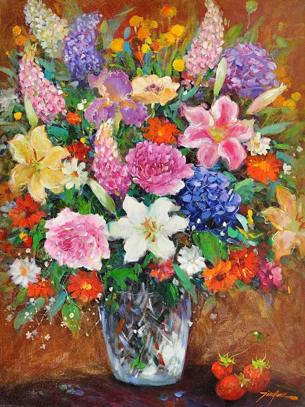 Bouquet of Joy by  Tinyan Chan - Masterpiece Online