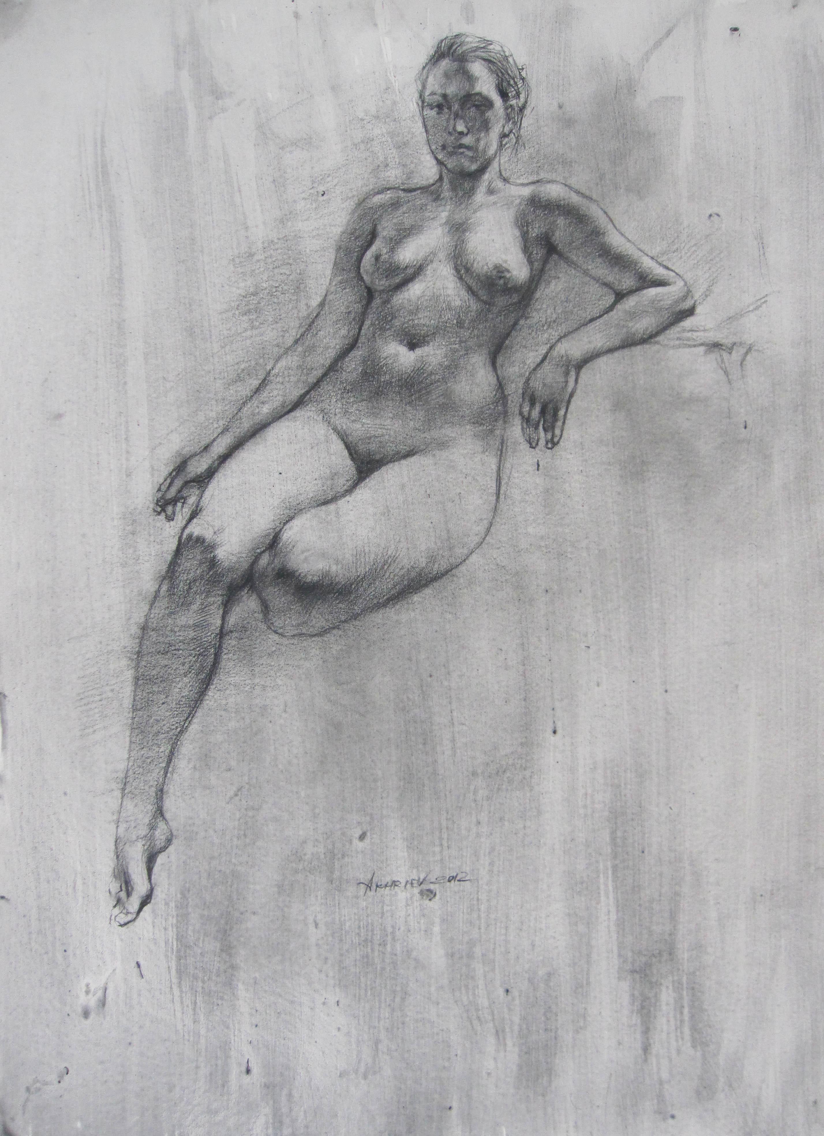 Resting  by  Daud Akhriev - Masterpiece Online