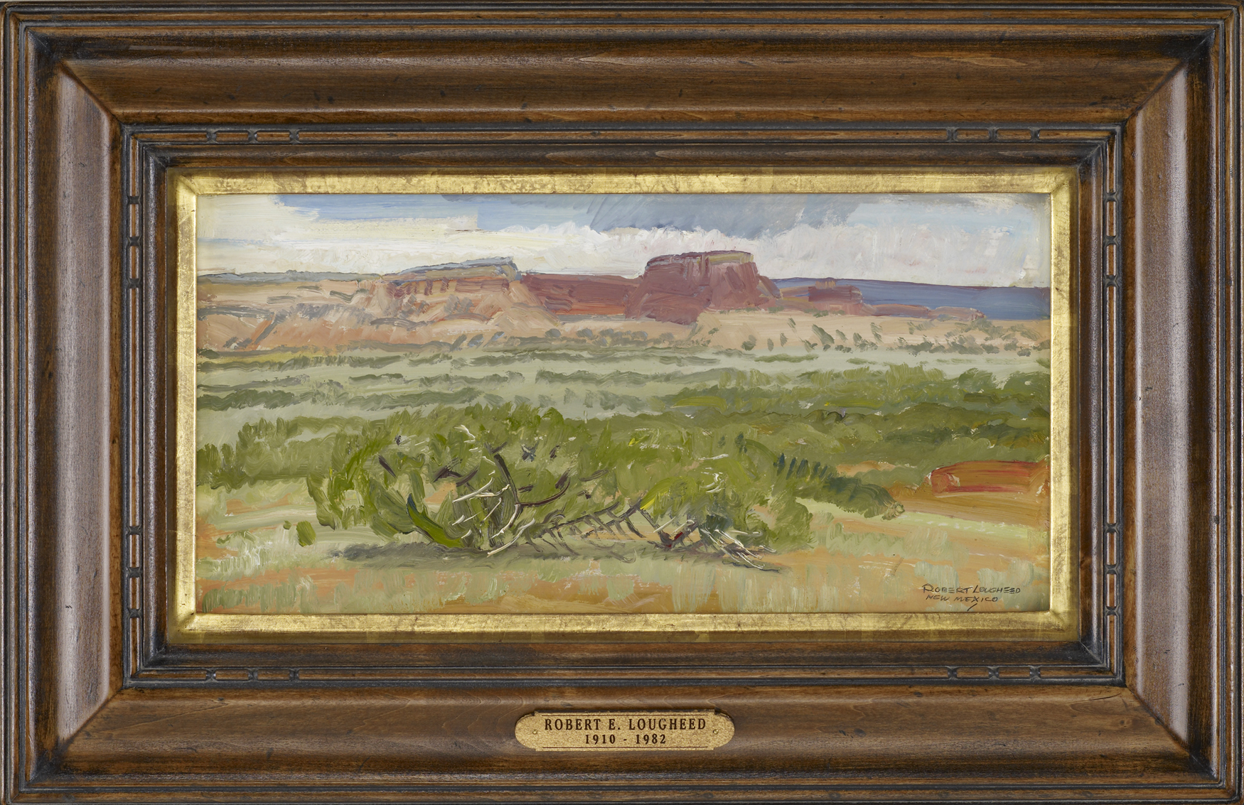 Red Rocks, New Mexico by  Robert Lougheed - Masterpiece Online