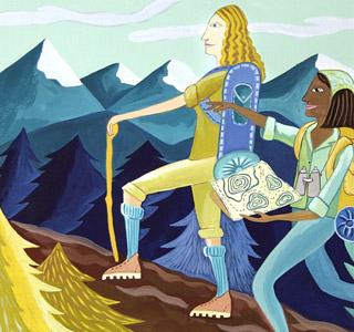 Hiking by  Sarajo Frieden - Masterpiece Online