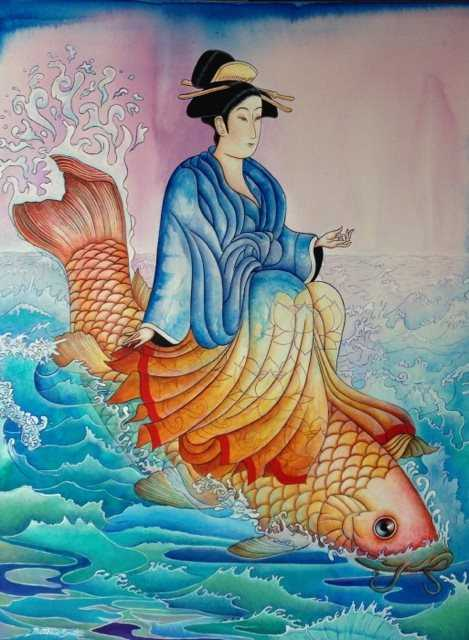 Koi Rider by  Matthew Smith - Masterpiece Online
