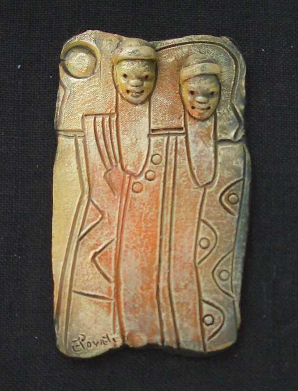 Ceramic Relief 8 by Mr. Everard Powell - Masterpiece Online
