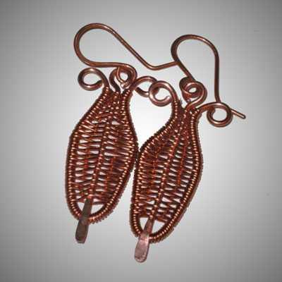 TA6830 Copper Feathers by  Terrie Allen - Masterpiece Online
