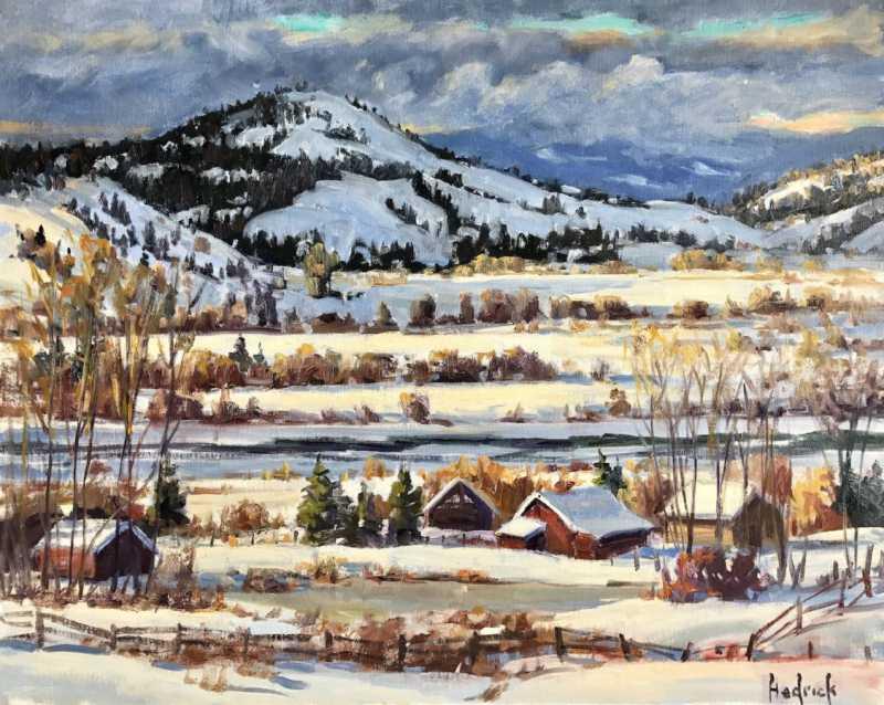 A River Runs Through ... by  Ron Hedrick - Masterpiece Online