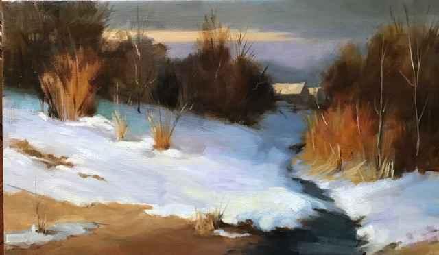 Evening in Winter by  Katherine Galbraith - Masterpiece Online