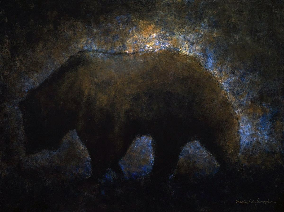 Grizzly at Dusk  by  Richard Harrington