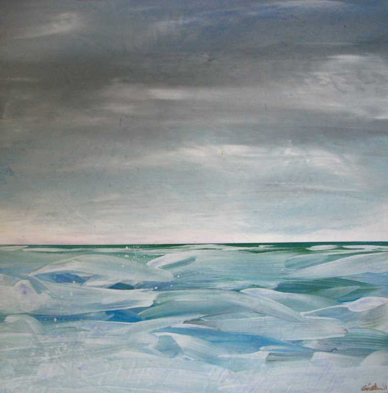 Pacific Blues 14 by  Curt Ginther - Masterpiece Online