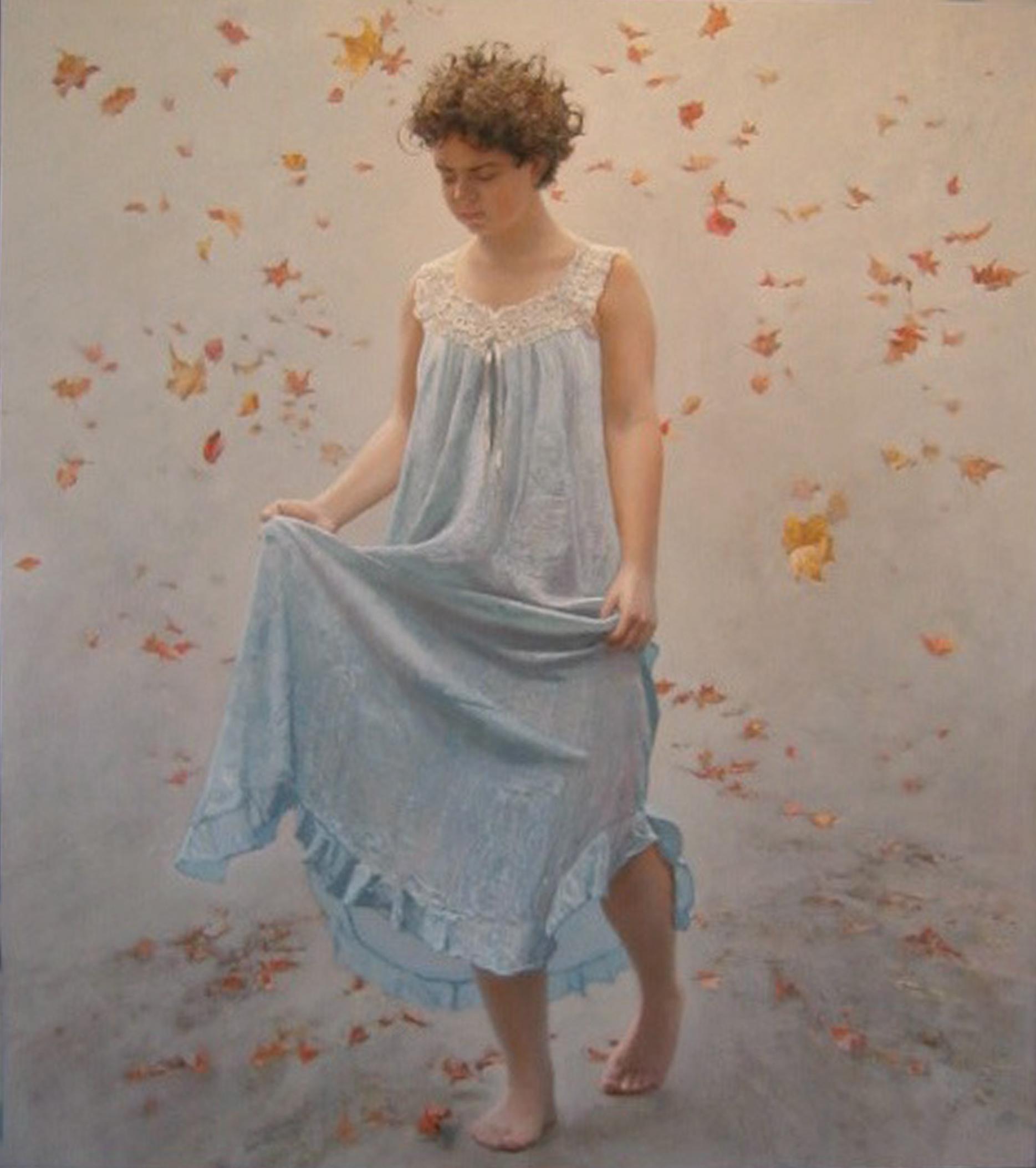 Falling Leaves by  Daud Akhriev - Masterpiece Online