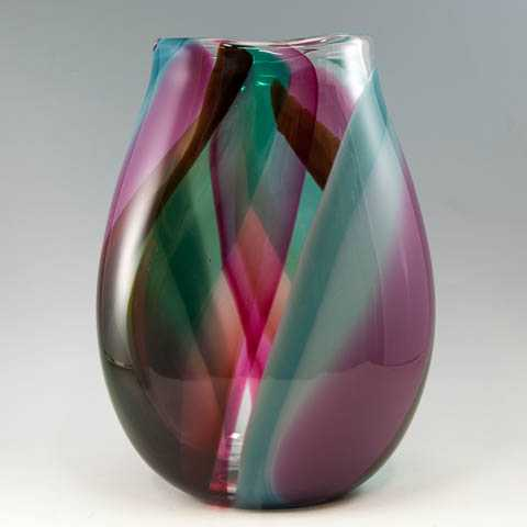 Two Sided Disk Vase by  Robinson Scott - Masterpiece Online