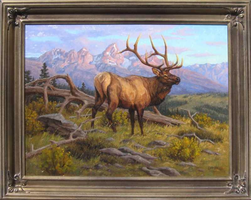 Teton Valley Sunrise by  Chip Brock - Masterpiece Online