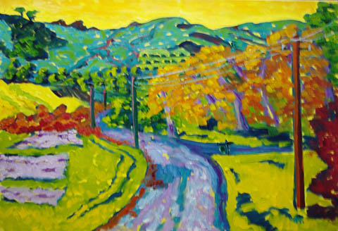 Curti Creek Road Camb... by  Char  Michelson  - Masterpiece Online
